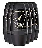 Rexona Men Deo Roll-On Sport Cool Anti-Transpirant, 6er Pack (6 x 50 ml)