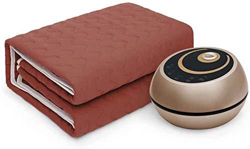 Blanket Cobija eléctrica hidrotérmica, Doble termostato de Seguridad para el hogar con...