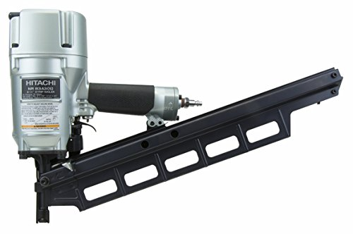 Hitachi NR83A3 2 Inch to 3-1/4-Inch Plastic Collated Full Round Head Framing Nailer with Tool-Less Depth Adjustment