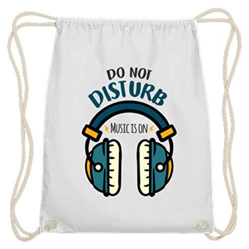 Bitte Nicht Stören, Musik Ist An - Kopfhörer Motiv - Schlichtes Und Witziges Design - Baumwoll Gymsac