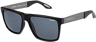 نظارة شمسية للرجال بعدسات مستقطبة بلون اسود غير لامع/عدسات دخانية من اونيل - طراز ONMAGNA-104P - بابعاد 57-17-145 ملم