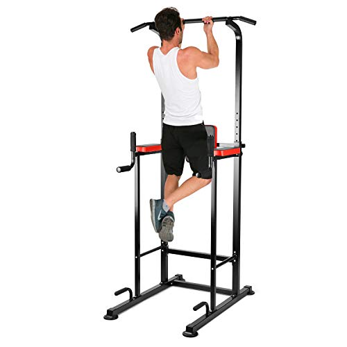 Viewee Pull up Fitness, Chaise Romaine Power Tower, Barra de