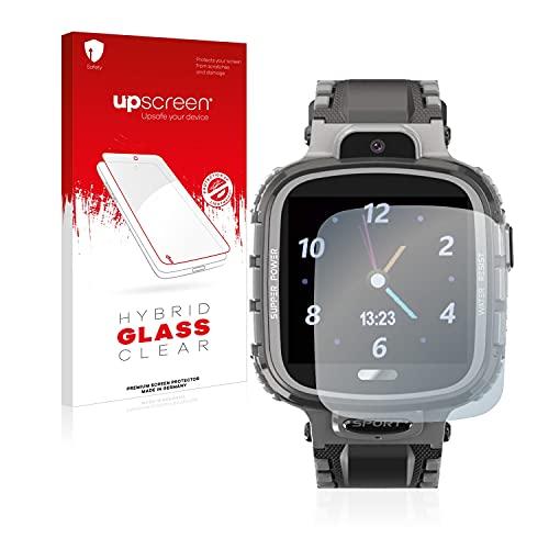 upscreen Protector Pantalla Híbrido Compatible con Vidimensio Kleiner Gorilla Hybrid Glass – 9H Dureza