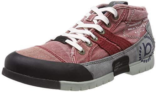 bugatti Herren 322656016900 Sneaker, Rot, 43 EU