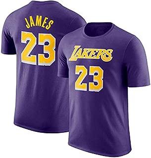 Conjunto cl/ásico sin Mangas Hombres j/óvenes Los Angeles Lakers No 3 Jersey Traje Bordado de Malla Jersey de Baloncesto Swingman Anthony Davis # 3 Shorts de Jersey para ni/ños 2XS,p/úrpura