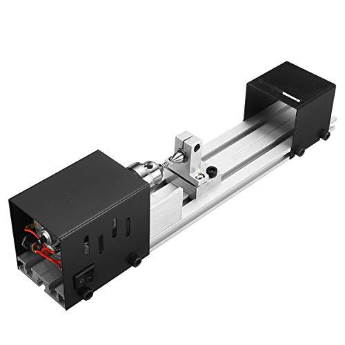 MASUNN Mini draaibank Kralen Machine Kralen Machine Mini Diy Houtbewerking draaibank Miniatuur Parel Draaibank Slijpen Polijsten Kralen Kleine Snijgereedschap