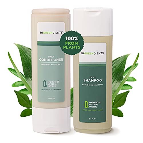 Ingreendients Sulfate Free Vegan Shampoo and Conditioner...