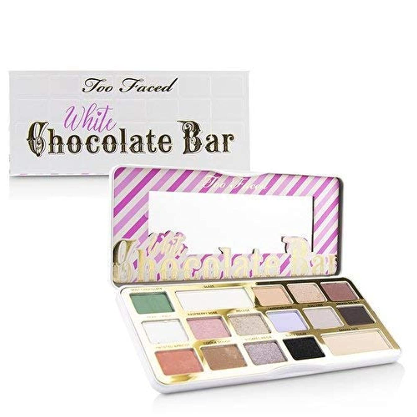 発生日輝度TOO FACED White Chocolate Bar Eyeshadow Palette Limited edition [並行輸入品]