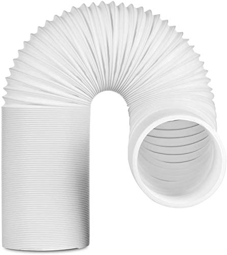 TURBRO Portable Air Conditioner Universal Exhaust Hose - 5 Inch Diameter, 78 Inch Length, Clockwise Thread