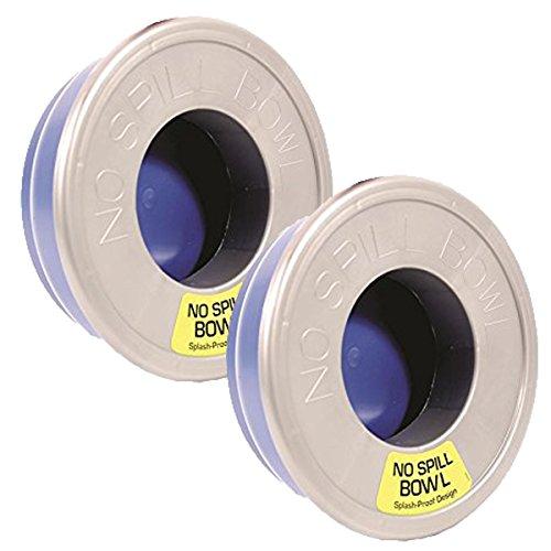 Petmate No Spill Bowl, 2 Pack