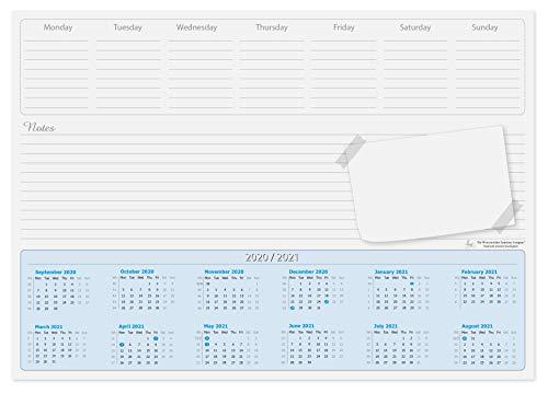 2017–2018accademico calendario da scrivania, 50fogli