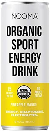 NOOMA Organic Sport Energy Drink 120mg Caffeine Adaptogens Electrolytes Real Ingredients Keto product image