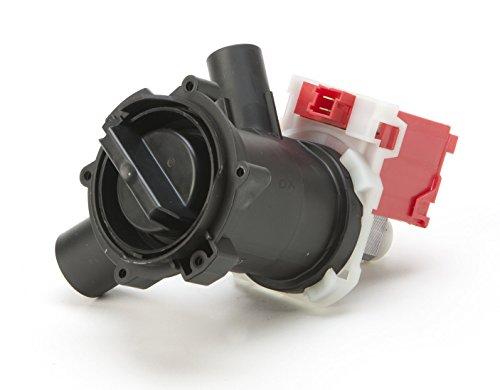 DREHFLEX - Laugenpumpe/Pumpe/Abwasserpumpe passend für diverse Waschmaschine von Bosch/Siemens/Constructa/Koenic - passend für Teile-Nr. 00145905/145905 ersetzt 00144192/144192
