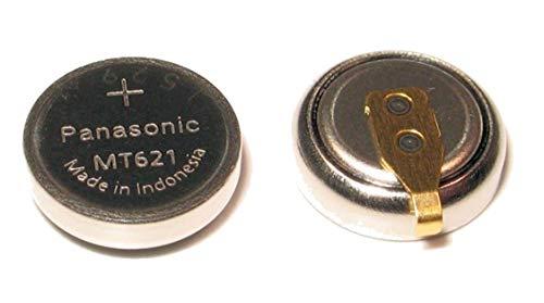 Panasonic batería mt621/295–51con banderitas para Solar Relojes Casio Citizen Eco Drive