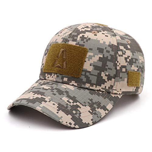 Herren Kappe Hut Operator Cap Baseball Caps Camouflage Camo Jagdhut Für Männer Adult Training Cap-C_Anjustable