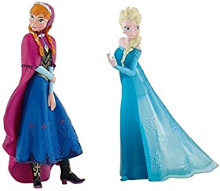 Disney's Frozen Elsa and Anna Birthday Party Cake Toppers