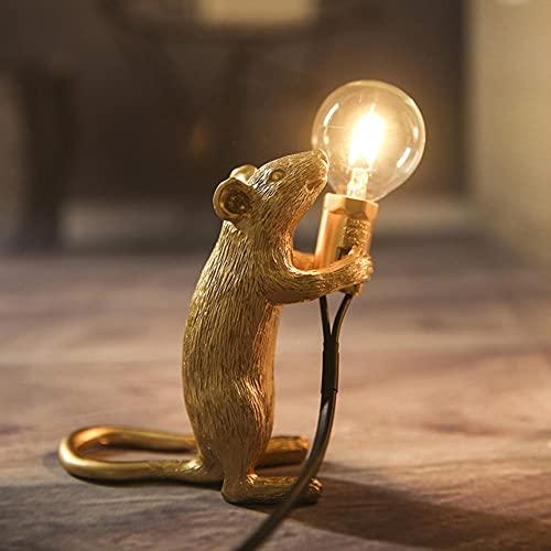 Lampada Da Tavolo Mouse,Lampada Da Tavolo Moderna Mouse Led E12 Lampade Da Tavolo Mouse Scrivania Arredamento Nordico Per Bambini,Luci Notturne A Led Lampade Da Scrivania