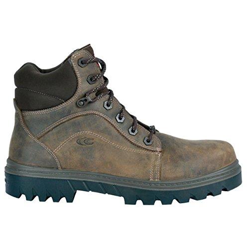 """Cofra, scarpe antinfortunistiche""""Oakland"""", modello 26540-000.W44, numero 44,BIS, S3, HRO, SRC, colore grigio"""
