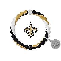 """Lokai NFL Collection Bracelet, New Orleans Saints, Size Medium (6.5"""")"""