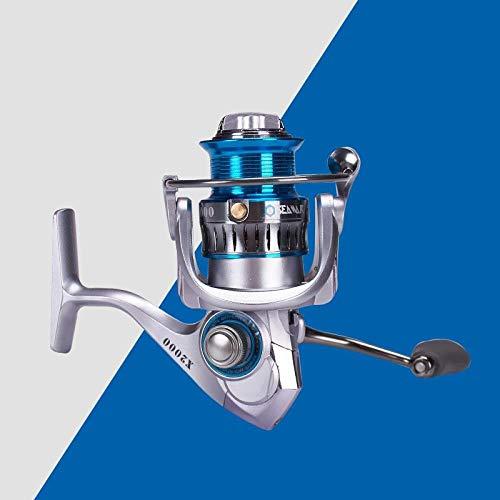 XXBFDT Carrete de para Rueda de Pesca de Manija Plegable - Carrete de Pesca a Largo Plazo contra el Agua de mar-Modelo 2000