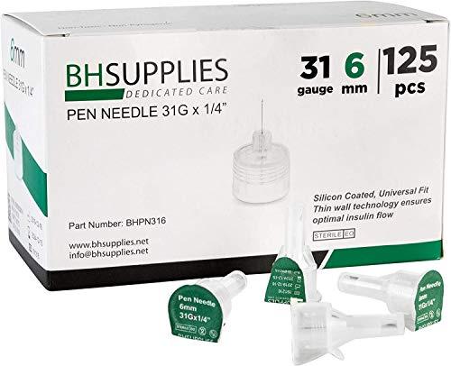 buy  BH Supplies Pen Needles 31 Gauge – ... Diabetes Care