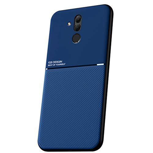 """Capa Grandcase para Huawei Mate 20 Lite, capa ultrafina de silicone macio TPU Fashion Line padrão durável leve absorção de choque capa de proteção para Huawei Mate 20 Lite 6,3"""" – Azul"""