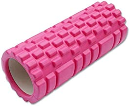 VIQILANY Exercise Equipment Hollow Yoga Column Body Relax Massage Foam Rollers Fitness - Rose