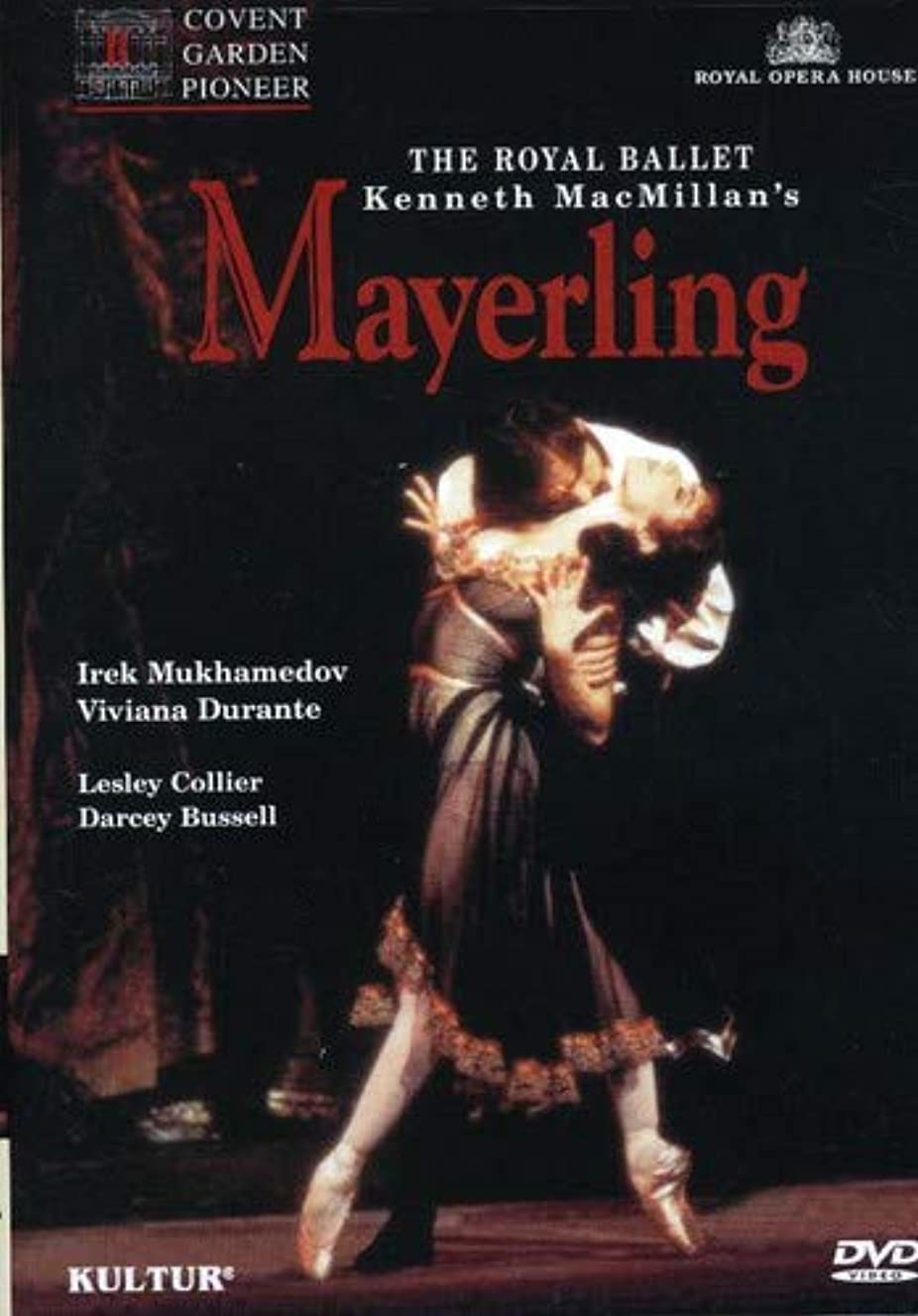 Kenneth's MacMillan's Mayerling / Mukhamedov, Durante, Collier, Royal Ballet