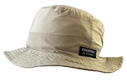 Chaskee Sonnenhut Energee Bob Bucket Cap Microfiber mit UV Schutz 60+, Farbe:beige