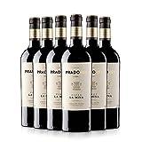 pradorey finca la mina - vino rosso - vino spagnolo - riserva - ribera del duero - vino da conservare invecchiato 18 mesi in barrique e 6 mesi in barrique di nevers - 6 bottiglie - 0,75 l