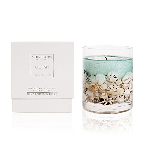 Stoneglow Candle Nature's Gift Ocean Gel Candle