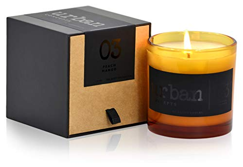 Urban Concepts by DECOCANDLES   Desire - Peach Mango - Highly Scented Candle - Hand Poured in The USA - Signature Scent for The Mansion on Forsyth Park Savannah, GA - 9 Oz. w/ Box