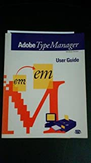 Adobe Type Manager User Guide, Windows Version