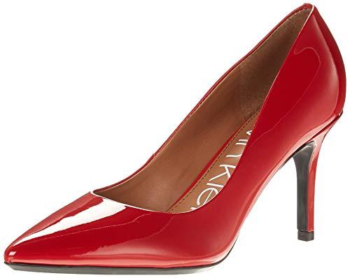 Calvin Klein Women's Gayle Pump, Crimson Red, 7.5