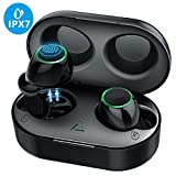 Wireless Earbuds, Mpow IPX7 waterproof HD Stereo Hi-Fi Sound 5.0 Bluetooth Earbuds, 21H