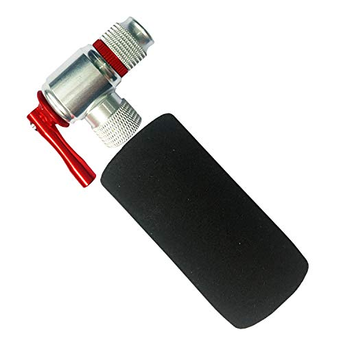 Sale.Best Quality co2 inflator,Quick & Easy, Presta and Schrader Valve Compatible, Bicycle Tire Pump for Road and Mountain Bikes-Include Insulated Sleeve