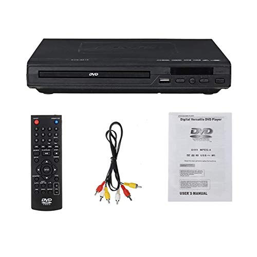 Lecteur DVD Portable, 110V-240V USB 3.0 DVD Lecteur multimédia DVD DVD DVD Support TV HDMI CD SVCD VCD Fonction MP3