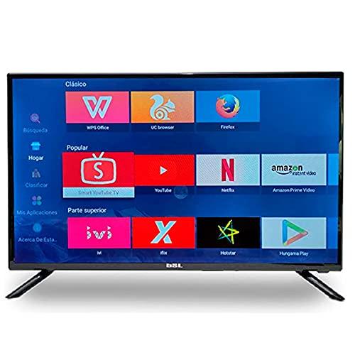 BSL Television 32 Pulgadas BSL-322SX | Smart TV | Sistema Operativo Android 9.0 | Sintonizador DVBT2 | Conectividad WiFi y RJ45 | HD Ready | 8GB de Memoria | USB Multimedia | Incluye Mando RF QWERTY.