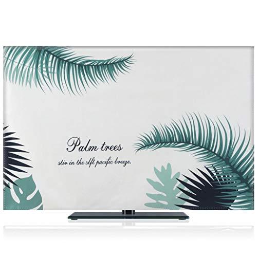 HBLZG Guardapolvo Cubierta Interior del televisor, Funda Protectora de Pantalla Compatible 22-75 Pulgadas PC, computadora de Escritorio y TV (Color : C, Size : 30in/32in)