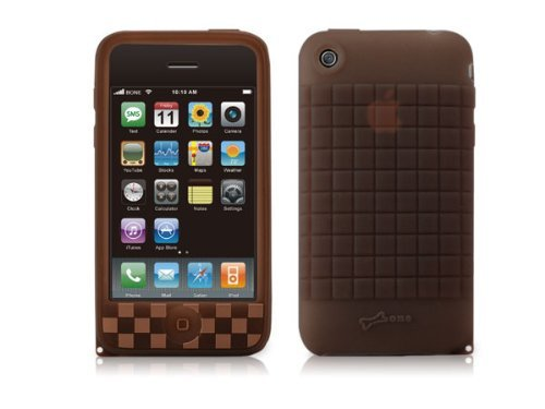 Bone Phone Cube 3G for iPhone 3G - Brown