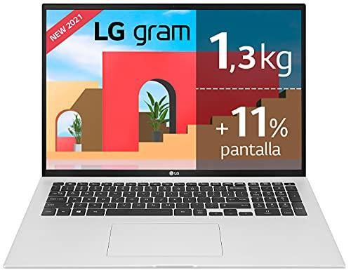 LG gram 17Z90P Windows 10 Home, Ultraligero de 43.2 cm (17