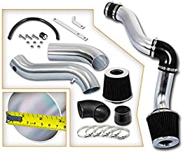 Rtunes Racing Cold Air Intake Kit + Filter Combo BLACK Compatible For 05-10 Chrysler 300 Touring/Limited 05-09 Dodge Magnum/Charger 3.5L V6