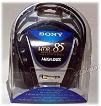 Sony MDR-85 Over-The-Head Mega Bass Stereo Headphones