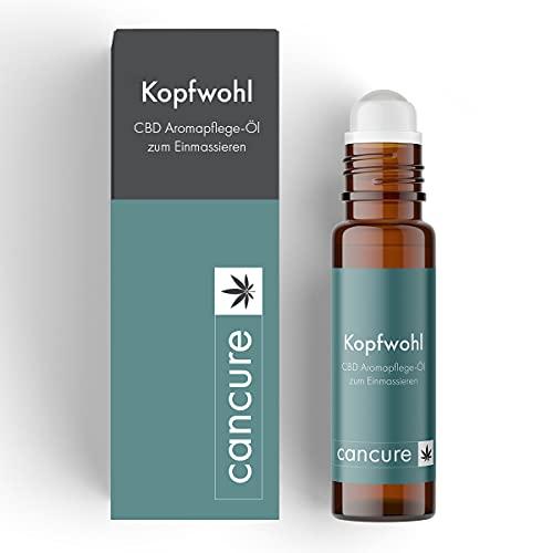 Aromapflege-Öl Bio mit CBD - Kopfwohl | 100{957c9daaf7ff7109bd378fc8a857347d608a80907ba6a353ebdd7417d7655b69} Made in Germany