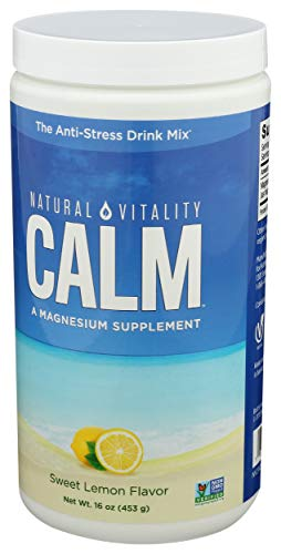 Natural Vitality Natural Calm, Sweet Lemon, 453 g