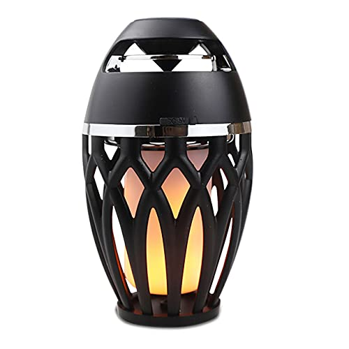 QAK LED Light LED Portátil USB Altavoz Bluetooth Linterna Al Aire Libre Reproductor De Música Partido Camping Atmósfera Noche Luz,A