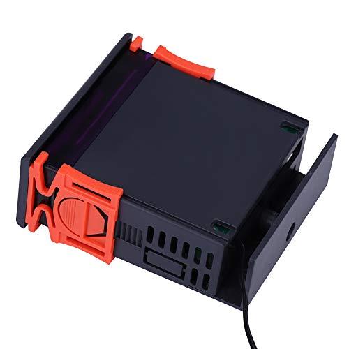 Controlador de temperatura de control de termostato Interruptor de temperatura de pantalla digital STC-2000 para sistema de aire acondicionado con sonda