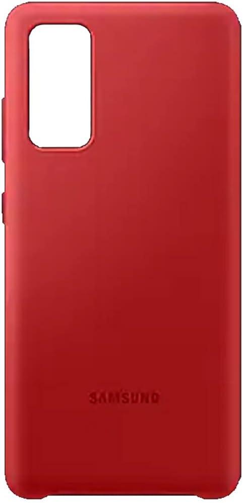 SAMSUNG Galaxy S20 FE 5G Silicone Case (Red)