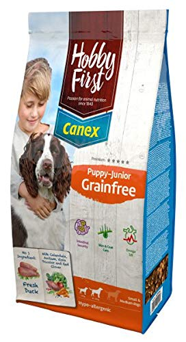 3 KG Hobbyfirst canex puppy/junior graanvrij hondenvoer