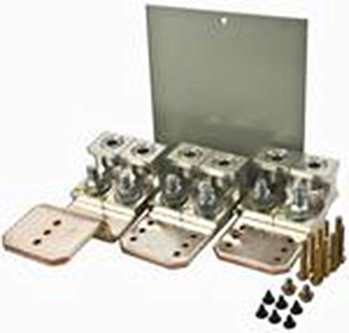 Cutler-Hammer LUGKIT400 Main/Through-Feed Lug Kit, for Use with 3-Phase PRL1A and PRL2A Panelboard